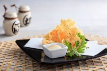 Prawn Nori Cracker with Yuzu Mayonnaise