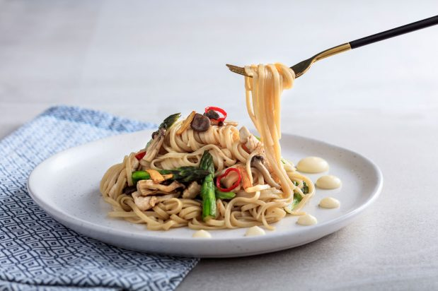 Yuzu Mayonnaise Chicken Yakisoba