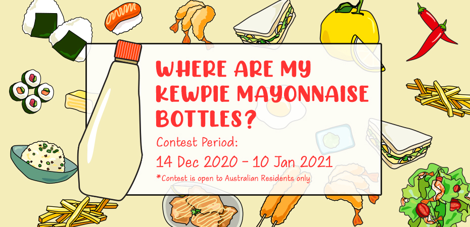 Where are My Kewpie Mayonnaise Bottles?