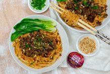 Dan Dan Tofu Noodles