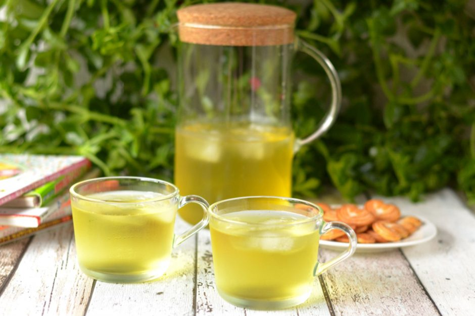 Make Your Own Cold Brew Green Tea