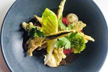 Miso Glazed Zucchini Tempura