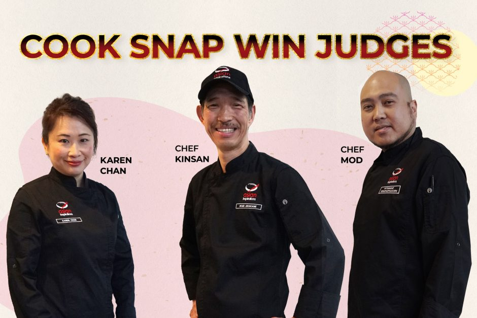Cook Snap Win 2021 Judges Cook-Up