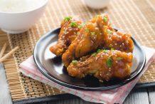 Sweet and Crispy Korean Fried Chicken (Dakgangjeong)