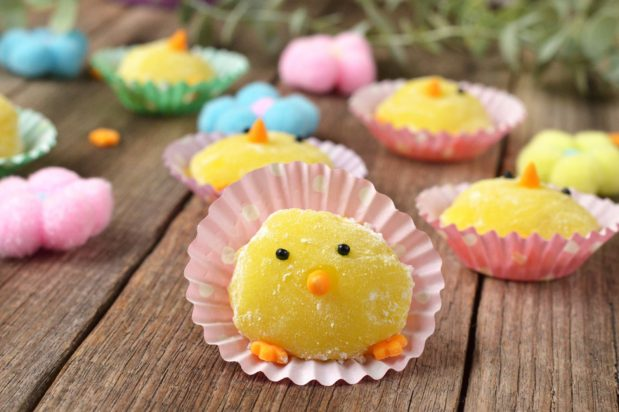 Lemon Mochi Chicks