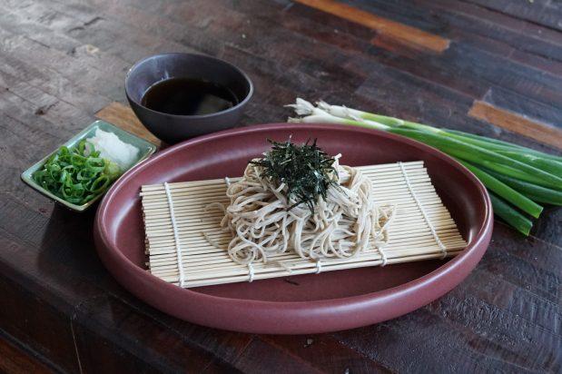 Cold Soba Noodle (Zaru Soba)