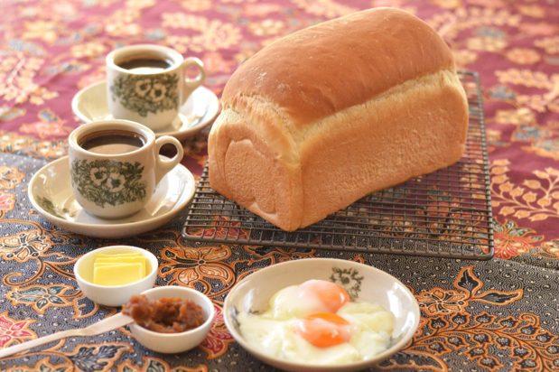 Traditional Hailam Kopitiam Bread