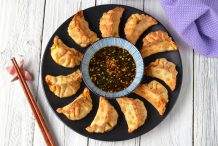 Home-style Air Fryer Vegetable Dumplings