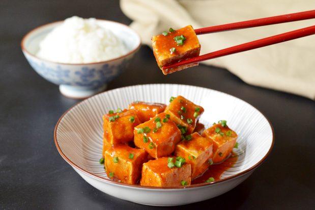 Nana's Secret Air Fryer Tofu