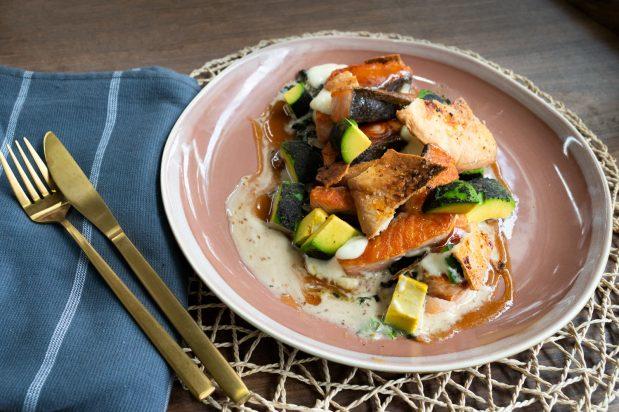 Japanese Miso-Glazed Salmon