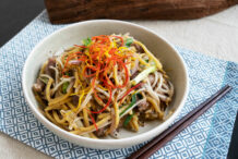 Stir Fried Beef Noodle