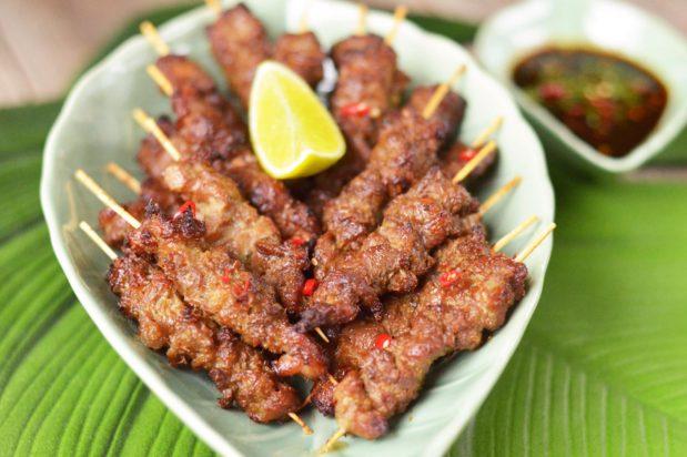 Mum's Favourite Air Fryer Pork Satay