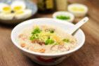 Slow Cook Roasted Pork Bones Congee