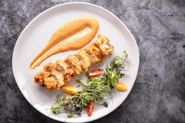 Red Curry Crispy Pork Belly