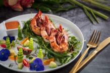 Prawn Salad with Tom Yum Mayo