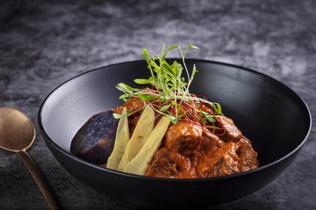 Slow Cooked Thai Laksa Beef
