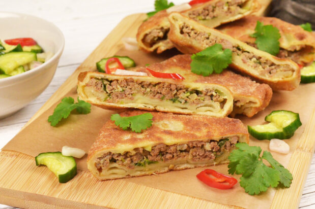 Thai Red Curry Beef Roti