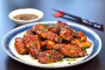 Tea-Smoked Chicken Wings