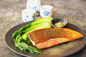 Salmon with 3-Teas Seasoning