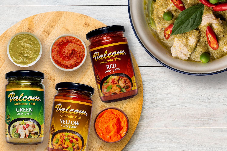 Valcom Curry Pastes