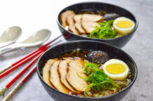 Easy Chicken Noodles in Master Stock