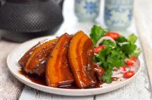 Caramelised Pork Belly in Master Stock