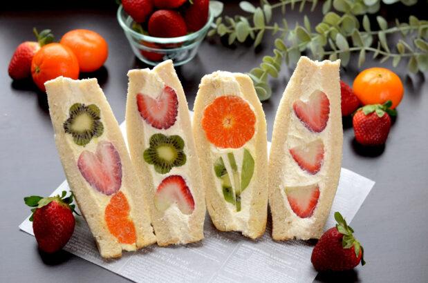 Fruit Sando (Japanese Fruit Sandwich)