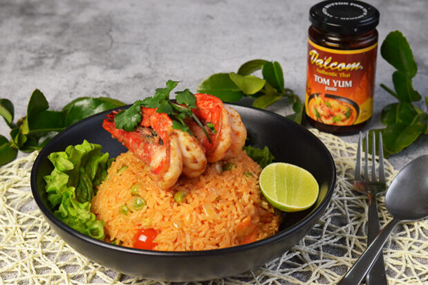 Tom Yum Fried Rice with Prawns (Kao Pad Tom Yum Goong)