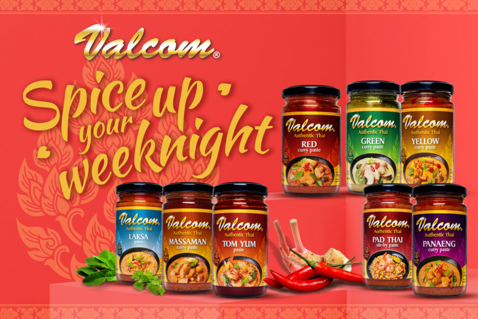 Spice Up Your Home-Cooked Meals with Valcom Thai Cooking Pastes