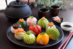 Vegan Temari Sushi (Temarizushi)
