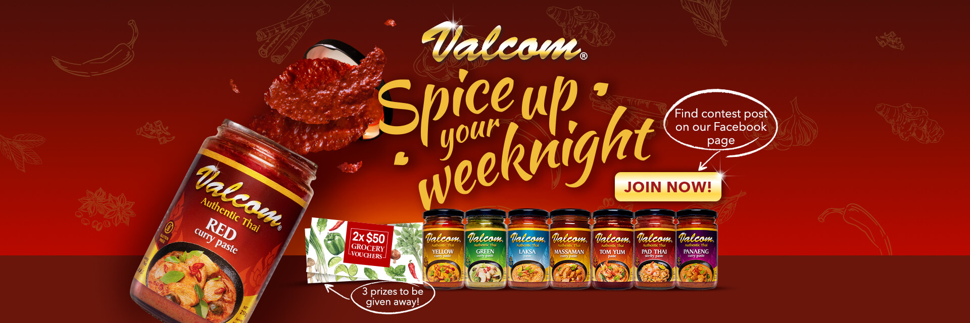 Valcom spice up your weeknight