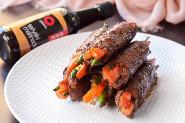 Teriyaki Steak Rolls