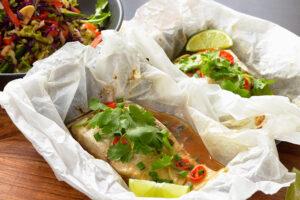 Thai Baked Barramundi